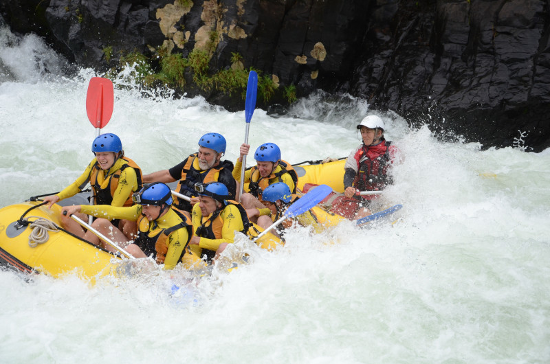 Mein erstes Mal River Rafting